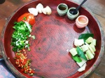 Ingredients for Tom Yum Goong - Trazy - Thailand Silom Thai Cooking School Class in Bangkok!