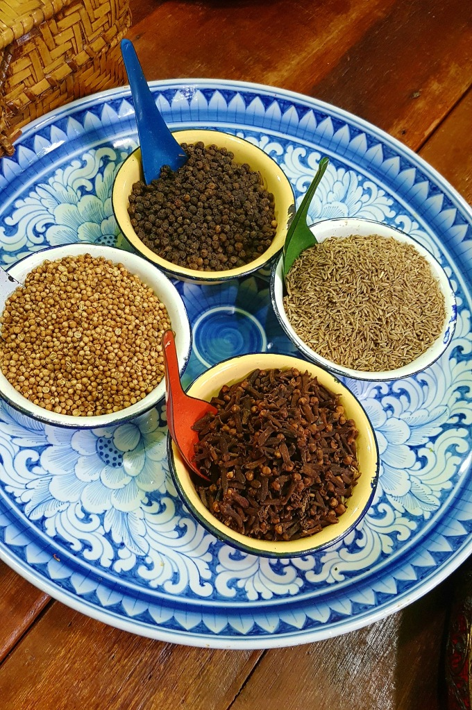 Thai Spices at Silom Thai Cooking School